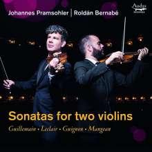 Johannes Pramsohler & Roldan Bernabe - Sonatas for two Violins, CD