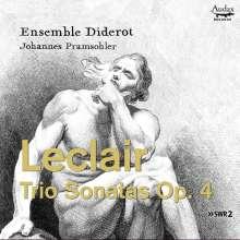 Jean Marie Leclair (1697-1764): Triosonaten op.4 Nr.1-6 für 2 Violinen,Cello,Cembalo, CD