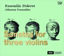 Ensemble Diderot - Sonaten für 3 Violinen, CD