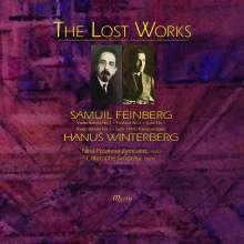 """Hans Winterberg (1901-1991): Klaviersuite 1945 """"Theresienstadt"""", CD"""