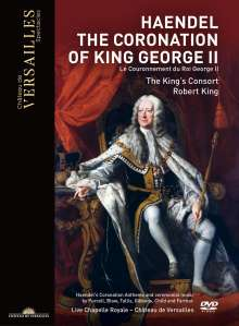 The Coronation of King George II, DVD