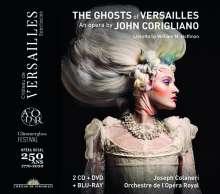 John Corigliano (geb. 1938): The Ghosts of Versailles, 2 CDs, 1 Blu-ray Disc und 1 DVD