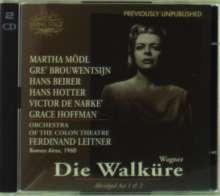 Richard Wagner (1813-1883): Die Walküre (Auszüge aus Akt I & II), 2 CDs