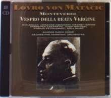 Claudio Monteverdi (1567-1643): Vespro della beata vergine, 2 CDs