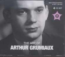 Arthur Grumiaux - The Art of Arthur Grumiaux, 4 CDs
