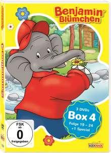 Benjamin Blümchen Box 4, 3 DVDs