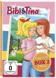 Bibi & Tina Box 2 (Folge 10-18), 3 DVDs