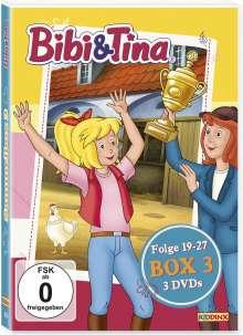 Bibi & Tina Box 3 (Folge 19-27), 3 DVDs