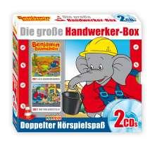 Elfie Donnelly: Benjamin Blümchen Handwerker Box, 2 CDs