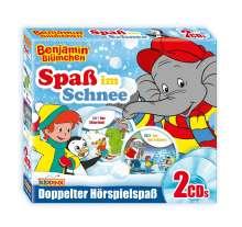 Benjamin Blümchen - Spaß im Schnee!, 2 CDs