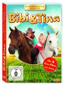 Bibi & Tina - Kinofilm-Box, 4 DVDs