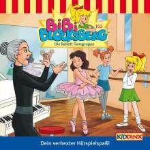 Klaus-P. Weigand: Bibi Blocksberg 102. Die Ballett-Tanzgruppe, CD