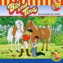 Ulf Tiehm: Bibi und Tina 54. Das Amulett der Gräfin. CD, CD