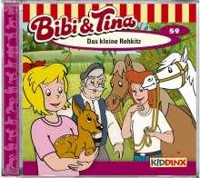 Ulf Tiehm: Bibi und Tina 59. Das kleine Rehkitz, CD