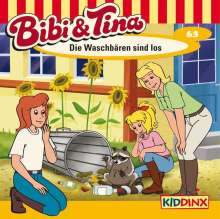 Ulf Tiehm: Bibi und Tina 63. Die Waschbären sind los, CD