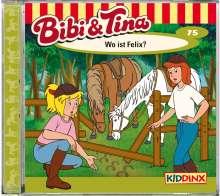 Folge 75: Wo ist Felix?, CD