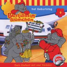 Elfie Donnelly: Benjamin Blümchen 009 hat Geburtstag, CD