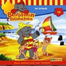 Elfie Donnelly: Benjamin Blümchen 015 im Urlaub, CD