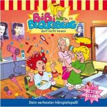 Elfie Donnelly: Bibi Blocksberg 34 ... darf nicht hexen, CD