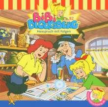 Nelly Sand: Bibi Blocksberg 82. Hexspruch mit Folgen. CD, CD