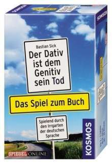 Bastian Sick: Der Dativ ist dem Genitiv sein Tod - Das Spiel zum Buch, Diverse