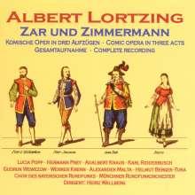 Albert Lortzing (1801-1851): Zar und Zimmermann, 2 CDs
