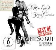 Stefan Zauner & Petra Manuela: So weit so gut (Deluxe-Edition), 1 CD und 1 DVD
