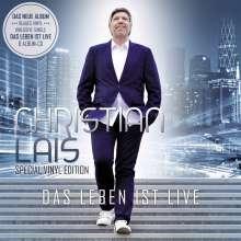 Christian Lais: Das Leben Ist Live (Special-Edition) (Blue Vinyl), 1 LP und 1 CD