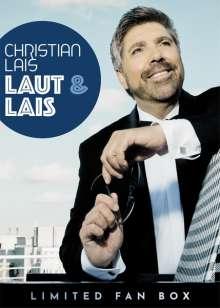 Christian Lais: Laut & Lais (Limited Fan Box), 2 CDs, 1 Single-CD und 1 Merchandise