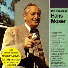 Hans Moser: Unvergeßlich, CD