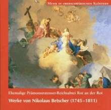 Nikolaus Betscher (1745-1811): Missa brevis g-moll, CD