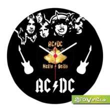 AC/DC Vinyl Schallplattenuhr, Merchandise