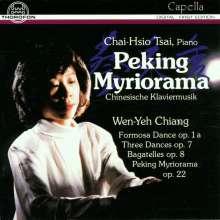 Wen-Yeh Chiang (1910-1983): Klavierwerke, CD