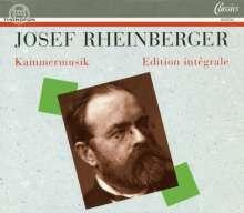 Josef Rheinberger (1839-1901): Sämtliche Kammermusik, 6 CDs