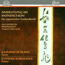 Kazumichi Ohno singt japanische Lieder, CD