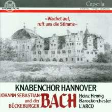 Johann Christoph Friedrich Bach (1732-1795): Wachet auf,ruft uns die Stimme (Motette), CD