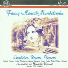 Fanny Mendelssohn-Hensel (1805-1847): Chorlieder,Duette,Terzette, CD