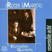 Henri Marteau (1874-1934): Klarinettenquintett op.13, CD