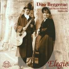 Gitarren-Duo Bergerac - Elegie, CD