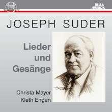 Joseph Suder (1892-1980): Lieder, CD