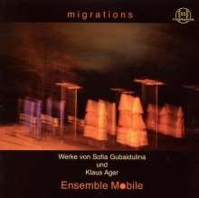 Sofia Gubaidulina (geb. 1931): 7 Etüden für Kontrabass, CD