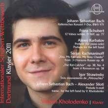 Internationaler Schubert-Wettbewerb 2011, CD