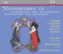 Rainer Maria Klaas & Peter P. Pachl - Melodramen III, 4 CDs
