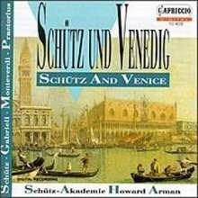 Schütz und Venedig, CD