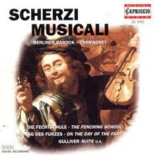 Berliner Barock-Compagney - Scherzi Musicali, CD