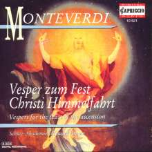 Claudio Monteverdi (1567-1643): Vesper zum Fest Christi Himmelfahrt, CD