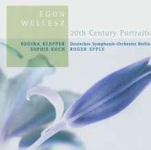 Egon Wellesz (1885-1974): Orchesterlieder, CD
