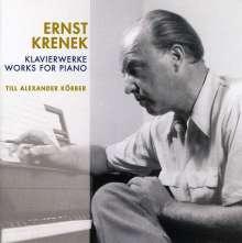 Ernst Krenek (1900-1991): Klavierstücke, CD