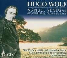 Hugo Wolf (1860-1903): Manuel Venegas (Opernfragment), 2 CDs
