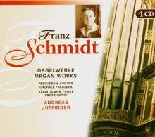 Franz Schmidt (1874-1939): Sämtliche Orgelwerke, 4 CDs
